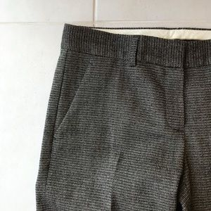 Theory Pants - Theory Wool Stretch Tweed Straight Leg Pants P164